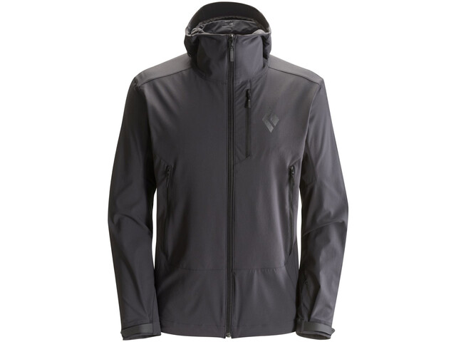 Black Diamond Dawn Patrol Shell Jacket Men Smoke